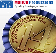 MailCo Productions providing mortgage protection leads for 14 years